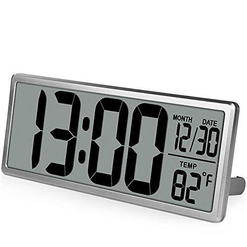 QZTG Despertador Digital Reloj De Pared Digital Grande