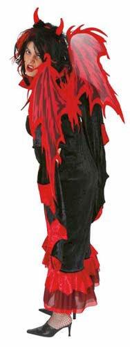 Unbekannt Teufelsflügel Deluxe rot 65x100cm ()