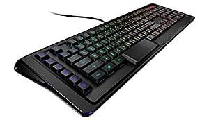 SteelSeries Apex M800, Clavier Gaming, Mecanique, Illumination LED RGB touche par touche, 6 Touches Macro, Profile bas, (PC/Mac) - Clavier US