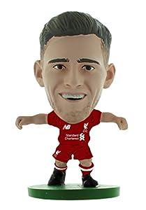 SoccerStarz SOC1318 Liverpool Andrew Robertson-Home Kit (2019 Version)/Figuras, Verde