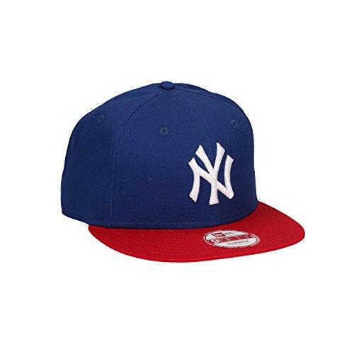 901169e30a2 New Era Snap Back Cap New Era Mlb Cotton Block New York Yankees  Royal-Scarlet