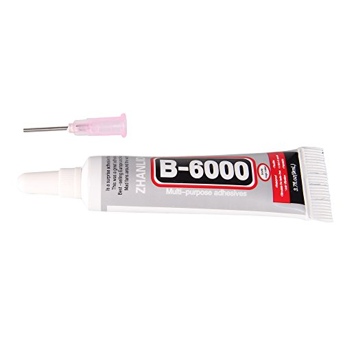 Beauty7 Colle Glue Adhesive B6000 Pour Colle Strass Cristals Bijoux Acrylique Diamond (9ml)