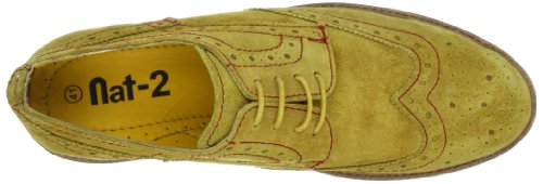 Nat-2 BUDA, Baskets mode homme Jaune-TR-E1-66