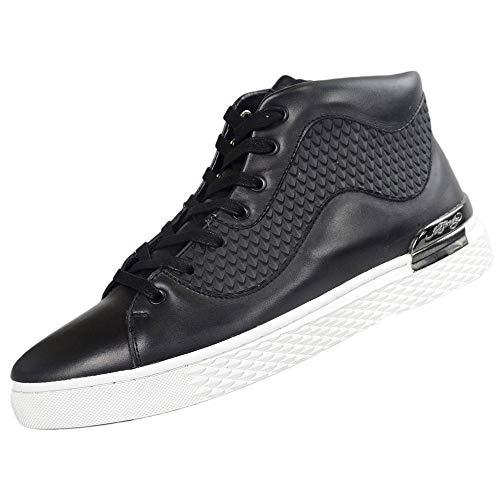 Ed Hardy , Herren Sneaker schwarz/weiß, schwarz/weiß - Größe: 38 EU -