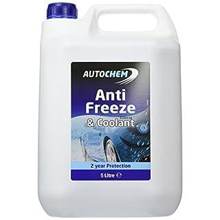 Motorcycle AutoChem Blue Antifreeze Car Van Anti-Freeze ABL005 - 5 Litres