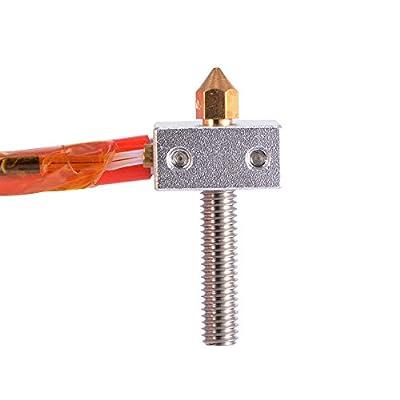 MK8 Extruder Hot End Assembled Extruder Kits Teile Zubehör 0.4mm Düse 1,75 mm Filament direkte Einspeisung 12V für 3D Drucker