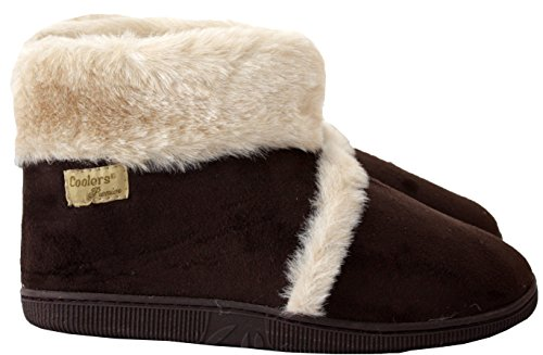 Coolers  Ad30163, Chaussons fille femme Marron
