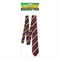 Harry Potter - Griffindor officially licenced tie - Bordeaux and gold - Hogwarts accessory