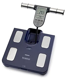 OMRON BF511 Clinically Validated Full Body Composition Monitor with 8 high-precision sensors for hand-to-foot measurement - Blue (B0033AGBW0) | Amazon Products