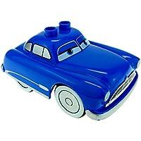 Preisvergleich für Bausteine gebraucht 1 x Lego Duplo Fahrzeug Disney Pixar Cars Figur Doc Hudson Hornet blau Fabulous Baujahr 1951 Auto 88760 88762c01pb02 88767pb01