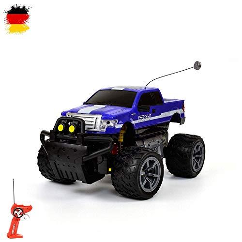 HSP Himoto 1 : 16 Off Road tout-terrain, voiture, véhicule télécommandé, Jeep Truck Modèle, Kit complet avec télécommande, batterie et chargeur