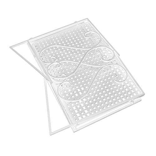 17.8 * 14 * 10.3cm azul laat pl/ástico tablero Cubo de basura Oficina Escritorio Organizador Papel escombro cesta de cubo de basura papelera de mesa Mini Contenedor sin tapa PP