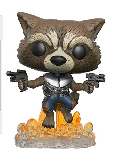 Funko- Rocket Figura de Vinilo, colección de Pop, seria Guardians of The Galaxy 2, (13270)