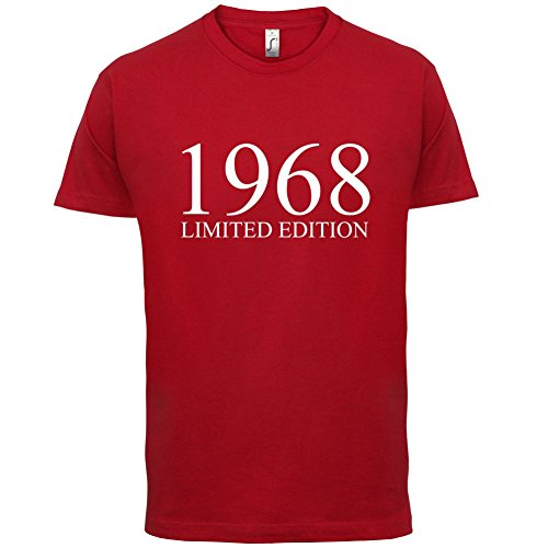 ... 13 Farben Rot. 1968 Limierte Auflage / Limited Edition - 49. Geburtstag  - Herren T-Shirt -