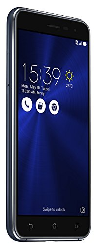 Asus ZenFone 3 (ZE520KL) Dual-SIM Smartphone (5,2 Zoll (13,2 cm) Full-HD Touch-Display, 32GB Speicher, Android 6.0) schwarz (Sapphire Black)