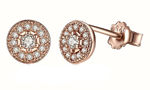 saysure-925-sterling-silver-radiant-elegance-stud-earrings