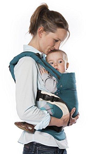 Manduca Babytrage, Bauchtrage, Rückentrage Farbe petrol
