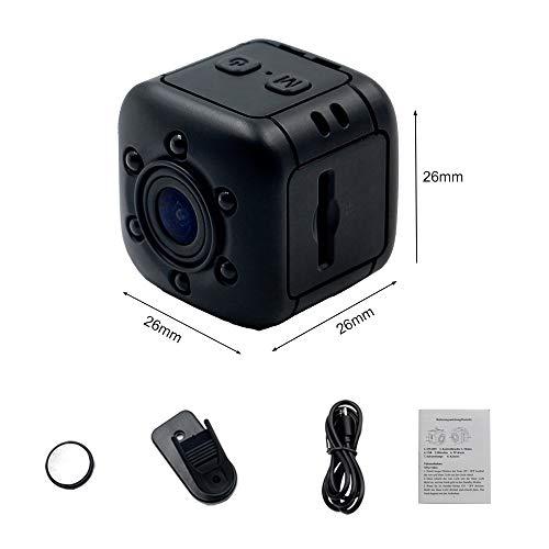 1080P Mini Cam Surveillance Kamera LXMIMI Portable HD Nanny Web Cam mit Nachtsicht und Bewegungserkennung für Home / Office Indoor / Outdoor Security Kamera - 7