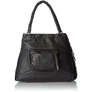 Liebeskind Berlin Women's Anjos Shoulder Handbag, (Ninja Black), 42x30x16