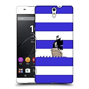 Snoogg Pirates Boat Designer Protective Back Case Cover For SONY XPERIA C5 ULTRA