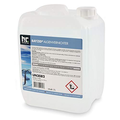 Höfer Chemie 5 L Pool Algenvernichter - Anti Algenmittel für...