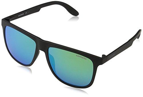 Carrera Herren 5003/ST Z9 DL5 Sonnenbrille, Schwarz (Matte Black/Green Multilaye), 57