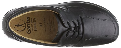 Ganter Sensitive Inge Wide Scarpe Derby Donna Derby Nere (nero 0100)