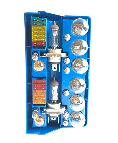 Melchioni Trousse 2X H4 Scorta-Set Glühlampen 24 V und Fusibili-322087015