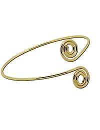 tumundo 1 Moda Superior del Brazo Pulsera Brazalete de Oro de la Plata Brazalete Mujeres en