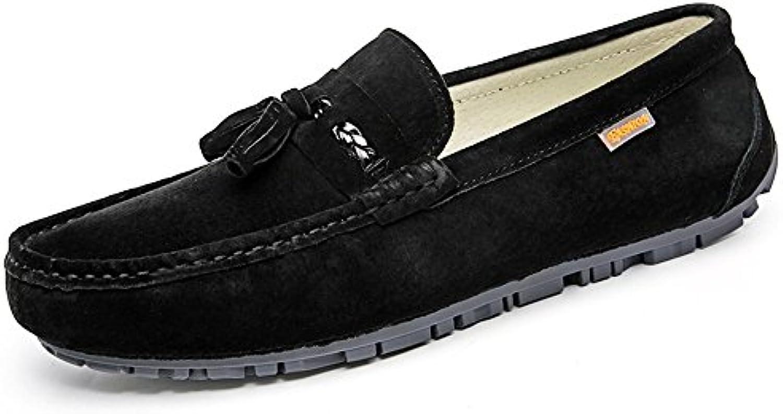 Xinke Slip on Uomo Mocassini in Pelle Scamosciata PU Nappa Nappa Nappa Britannica Pure Coloree Fashion Driving Mocassini da... | On-line  ed76ca