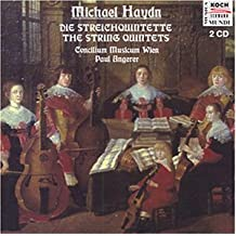 Michael Haydn: 5 String Quintets by Paul Angerer