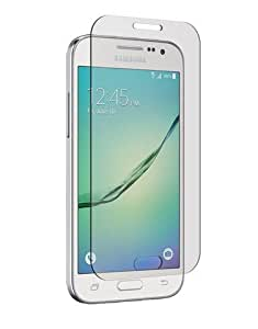SNOOGG Samsung Galaxy Core Prime Full Body Tempered Glass Screen Protector [ Full Body Edge to Edge ] [ Anti Scratch ] [ 2.5D Round Edge] [HD View] – White
