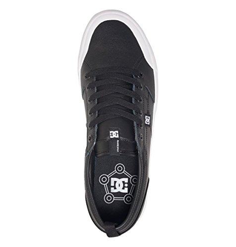 DC, Scarpe da Skateboard uomo Black/Black/White