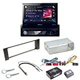 Komplett-Set Audi A4 B6 B7 Pioneer AVH-X7800BT Autoradio USB MP3 FLAC Bluetooth