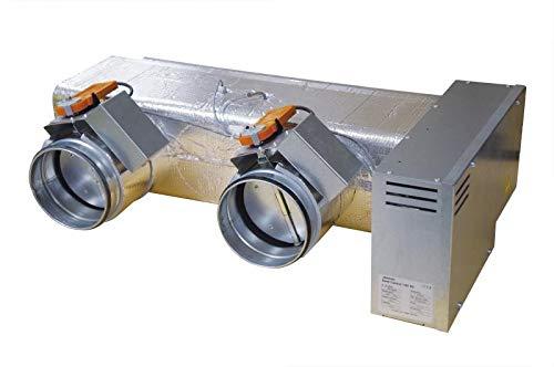 Kit plenum de régulation pièce par pièce 2 registres motorisés Ø 160mm pour clim gainable Zone Control S2 ATLANTIC 875006