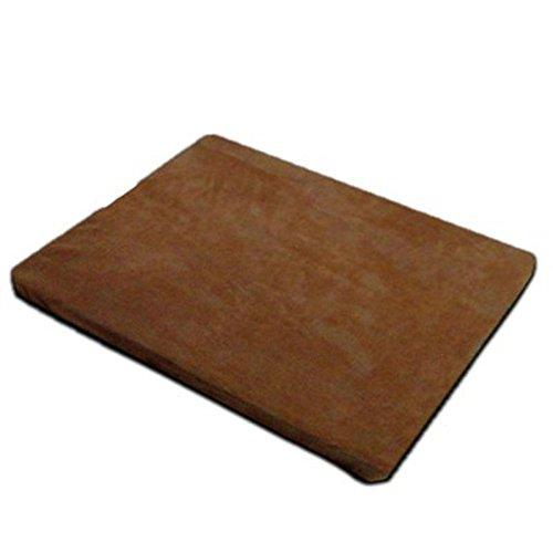 -kalte Matte ohne Gel 丨 Haustier-Wasser-Eis-Matte 丨 Haustier-Sommer-Abkühlen-Platten-Auflage 丨 Haustier-kaltes Pad (Braun) (Gefrorene Platten)