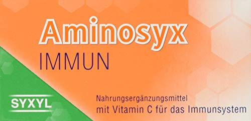 SYXYL Aminosyx Immun Tabletten – Nahrungsergänzungsmittel mit Zink, Selen, Kupfer und Vitamin C für das Immunsystem – 60 Tabletten im Blister