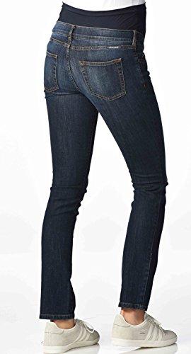 Christoff Umstandshose Basic Jeans elastisch slim fit - 102/91/ Denim dark blue