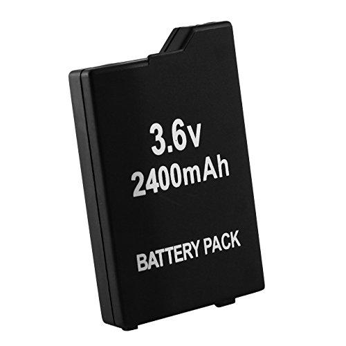 Tera® 2400mAh 3.6V Akku Ersatzakku Battery Pack für PSP3000