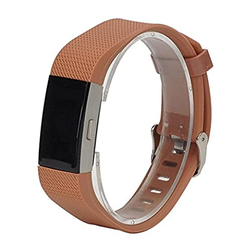 Band For Fitbit Charge 2, Toamen New Fashion Sports Silicone Bracelet Strap Band For Fitbit Charge 2