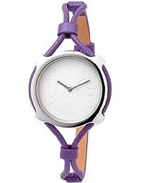 Dolce & Gabbana DW0840 - Reloj para mujeres, correa de acero inoxidable color morado