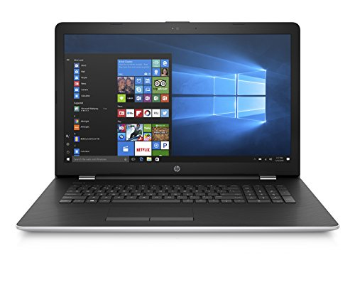 "HP 17-bs003nl Notebook, Display da 17.3"", Intel i5-7200U, 2.5 GHz, HDD da 1000 GB, 8 GB di RAM, AMD Radeon 520, Argento Naturale"