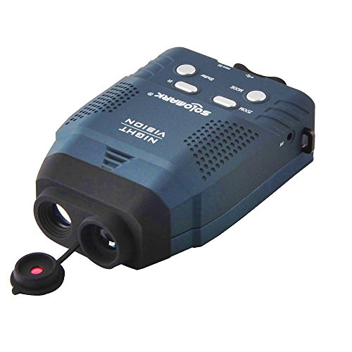 SOLOMARK Digital Night Vision Monocular, 3x 14 Infrared Illuminator Monocular Allows Viewing in the Dark-records Images and Video