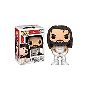 Funko Figurine WWE New Seth Rollins White Costume Exclu Pop 10cm 0889698118385