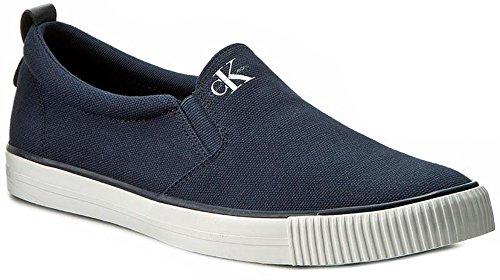 Calvin Klein Jeans S0370 Sneakers Uomo Tela Blu Nautico Blu Nautico 43