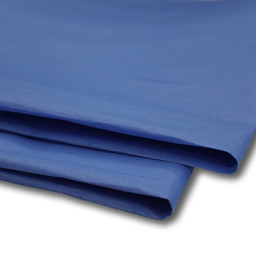 """100 x Royal Blue Tissue Paper / Gift Wrap / Wrapping Paper Sheets (20"""" x 30"""")"""