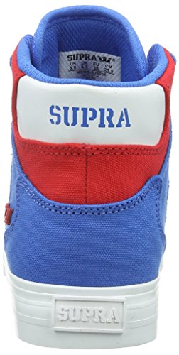 Supra Unisex-Erwachsene Vaider D High-Top Blau (ROYAL / RED - WHITE RRD)