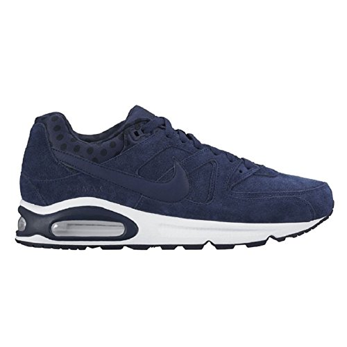 Nike Air Max Command Prm, Scarpe sportive, Uomo Blu (Azul (Mdnght Nvy / Mdnght Nvy-Sqdrn Bl))