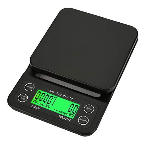 Küchenwaage Digital Kaffee Waage Digital Küche Timer USB Hohe Präzision Balance Digital Elektronische LCD Display Gewicht Gram Skalen