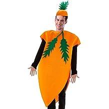 Folat 21977–zanahorias Disfraz, One size, color naranja